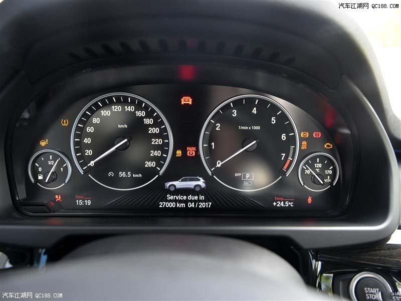 17年宝马X5中东版 配置参数马力最低价格高清图片