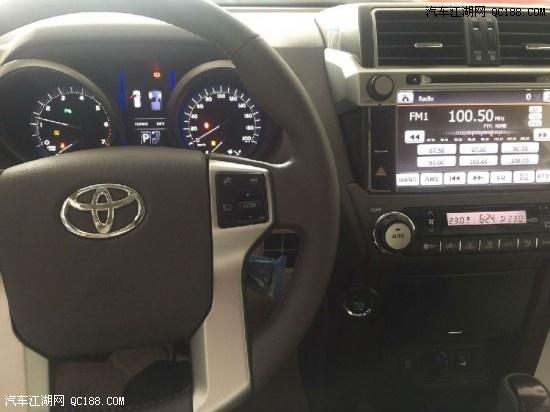 车 17款丰田普拉多4.0中东版购车记