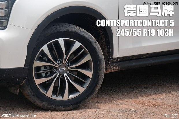 传祺gs8促销进行中 4s店购买专线:182 1059 9958 石经理   轮胎的配置