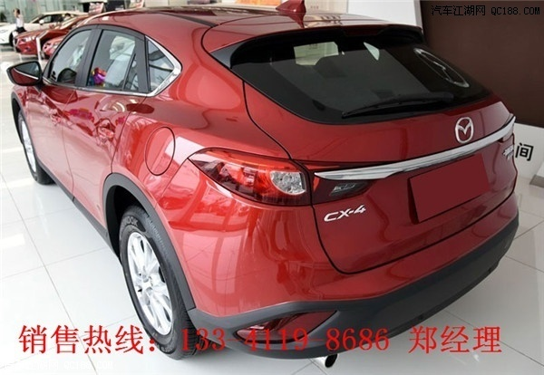 马自达CX 4安全性能怎么样马自达CX 4低配带天窗吗高清图片