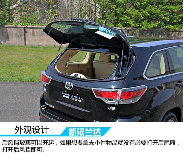 丰田汉兰达5座现车低价售全国汉兰达5座的哪有现车高清图片
