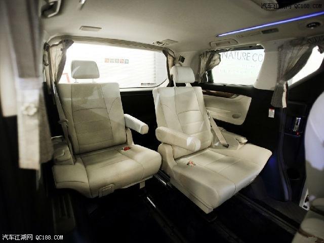 17款丰田埃尔法配置参数欧规版与中东版配置参数售价图片 76040 640x480