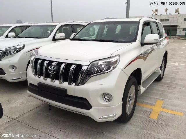 丰田霸道4000v6配置报价2017款现车最低价格多少钱