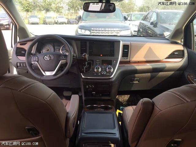 王者先锋17款丰田塞纳3.5四驱报价46万,2017款丰田塞纳3.5采用了丰