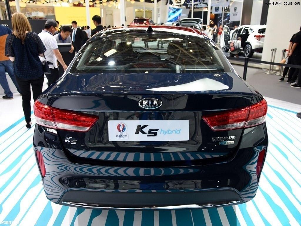 起亚K5 2017最低价格全系热销中价现车充足
