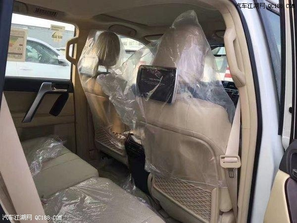 17款普拉多4000中东版现车最新报价51万优惠3万
