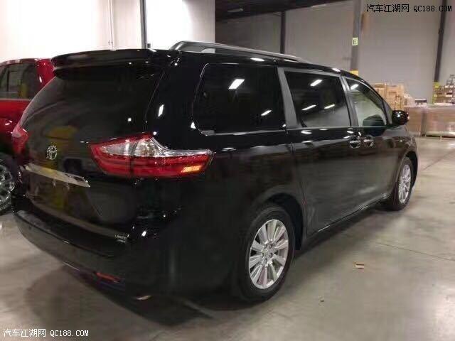17款加版丰田塞纳3.5L四驱高配天津最低价格