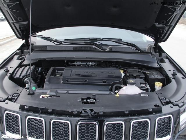 进行对比的全新Jeep指南者 200T 家享版搭载了一台1.4T涡轮增压
