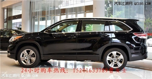丰田汉兰达最新款 7座SUV越野车新报价高清图片