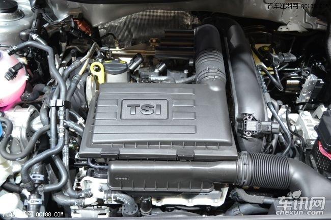 4t涡轮增压发动机两款动力,招牌式的正时链条也被更换为了正时皮带,虽