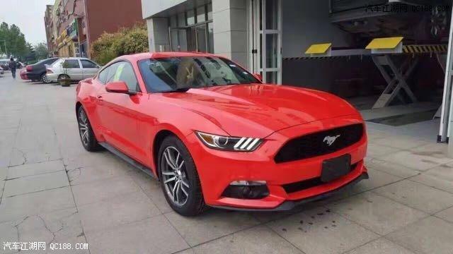 17款福特野马现车2.3T激情超跑优质巨献 Mustang