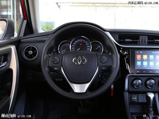 丰田雷凌发动机马力怎么样类来看全系降价直降3.5万