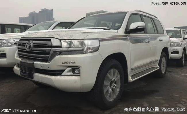 17款丰田陆巡4.0L中东版 平行进口车天津港最低价格-平行进口车 陆巡