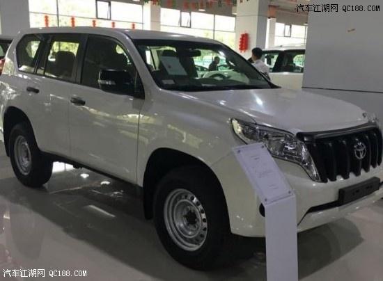 17款丰田普拉多2700中东版天津最低价新车到店优惠中