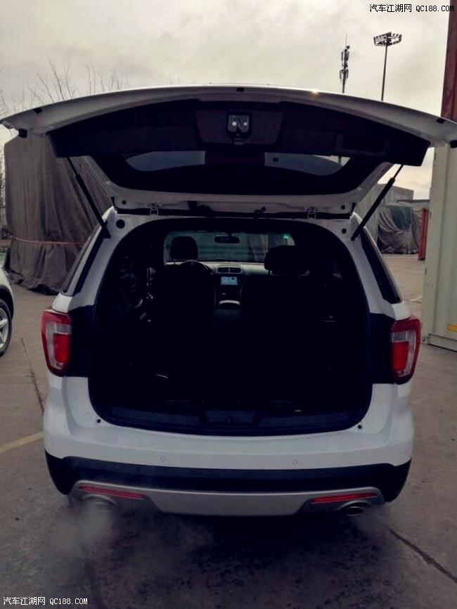 全新17款福特探险者7座SUV最新报价图片及配置