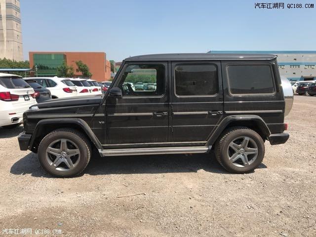 奔驰g500现车黑色图片裸车最低多少钱 17款G500报价