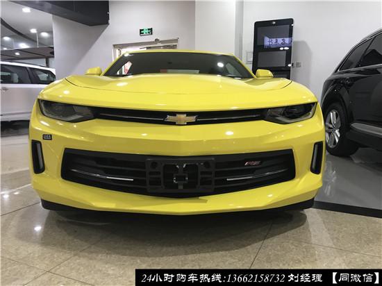 2017款雪佛兰科迈罗现车 传承经典肌肉跑车美学