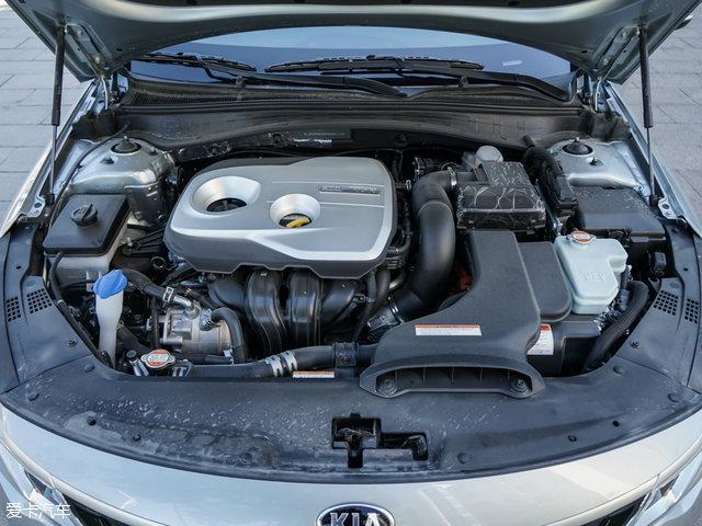 在动力方面,东风悦达起亚K5混动车型搭载一台2.0L自然吸气发动机+高清图片