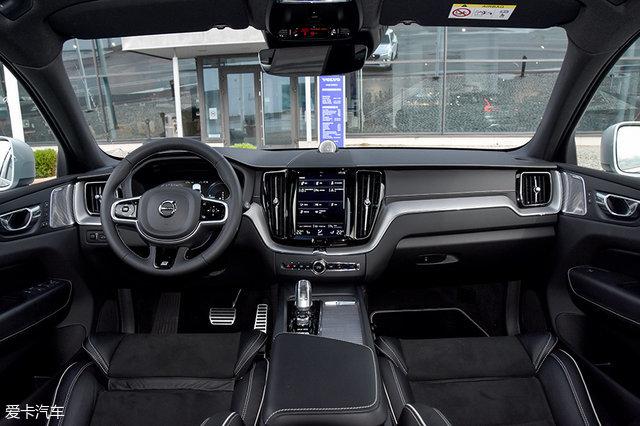 全新XC60 T8版内饰的主要特点,是沃尔沃插电混动车型标志性的水高清图片