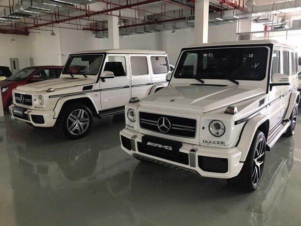 奔驰g63豪华越野之王天津港最新报价高清图片