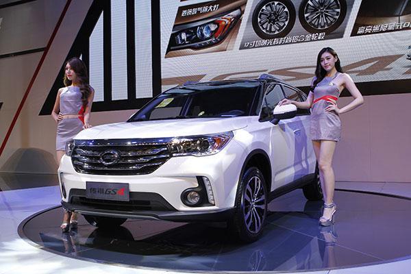 新款广汽传祺GS4最新优惠报价及图片配置低价售全国