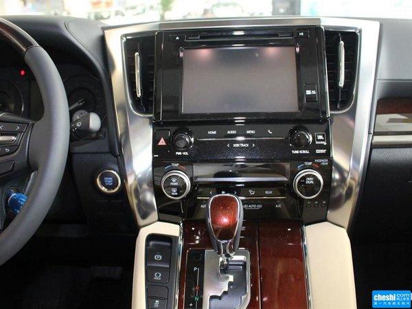 2018款丰田埃尔法3.5报价 时尚气派商务极致豪华MPV