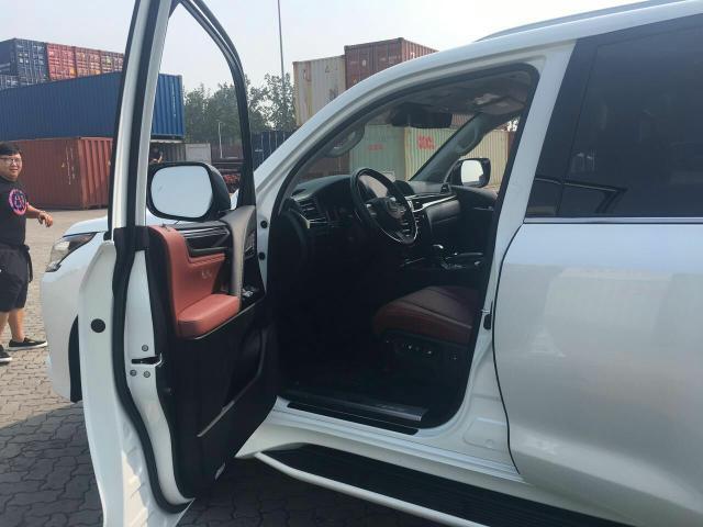 18款雷克萨斯LX570大量现车最新报价