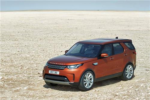 全新一代路虎发现的设计灵感源于路虎发现vision概念车.
