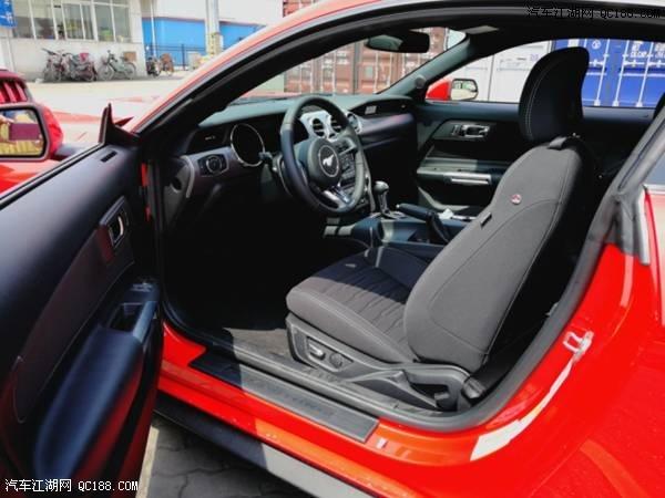 福特野马2.3t马力多大外观内饰图片提裸车能不能上牌