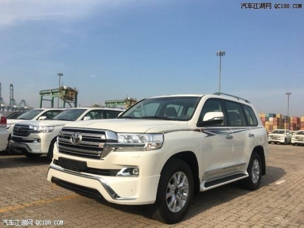 18款平行进口版丰田酷路泽4000 4600 5700 价格 配置