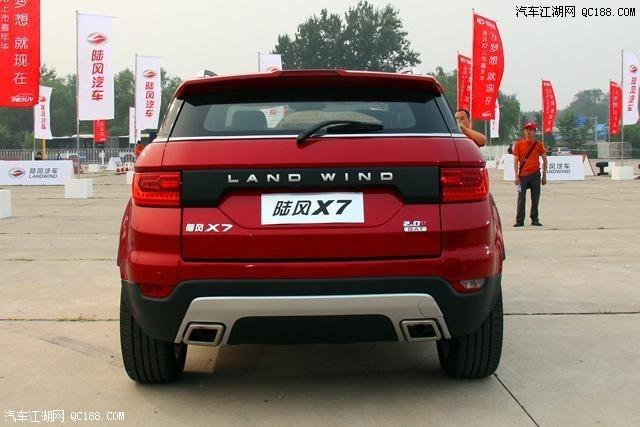陆风X7特价优惠7万陆风X7现车都有什么颜色内饰怎么样