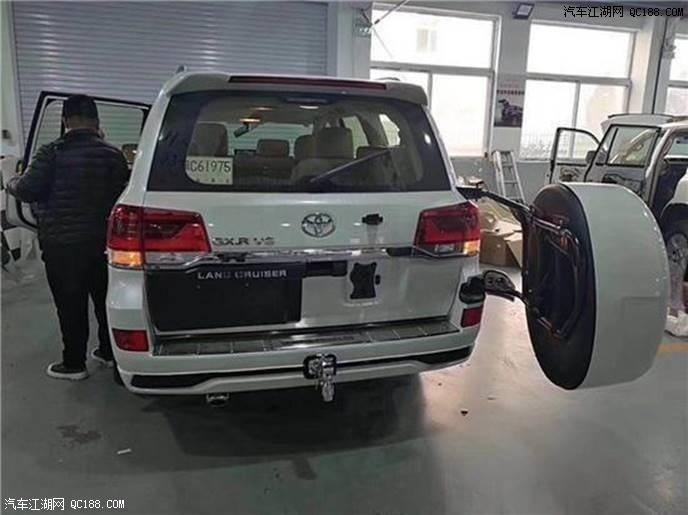 18款兰德酷路泽4000GXR八气囊价格配置现车手续齐全