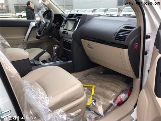 2018新款丰田霸道4000中东版越野大型SUV