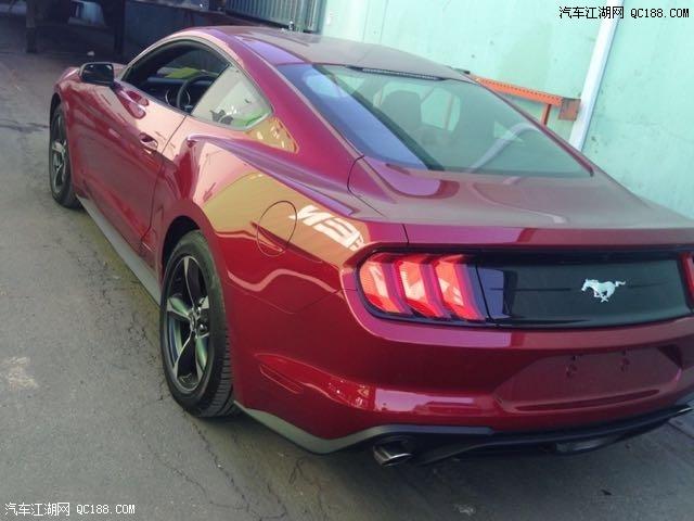 进口福特野马2.3新款颜色齐30.2万现车手续齐