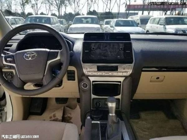 18款丰田霸道4000中东版大量现车报价优惠促销