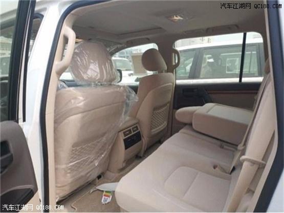 18款丰田酷路泽4000天窗后挂现车报价及性能对比参数