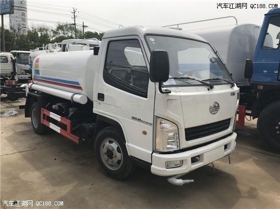 一部5吨绿化东风洒水车多少钱