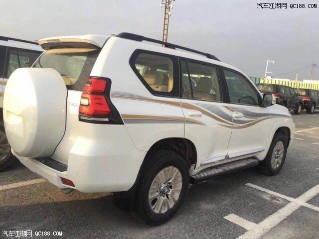 2018款丰田霸道4000中东版天窗高配报价多少钱