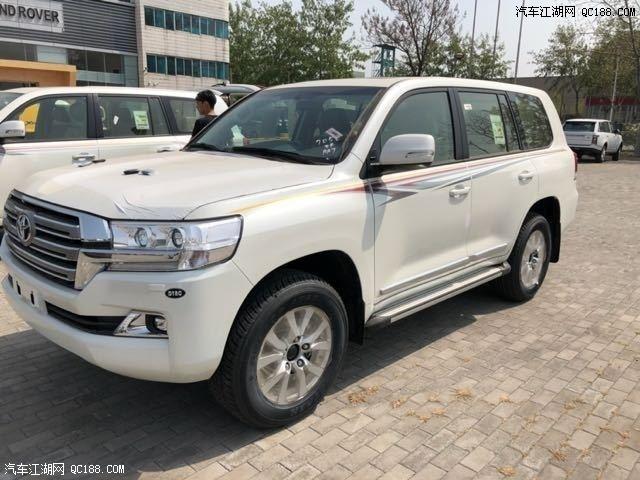 平行进口2018丰田酷路泽4000五一促销销全国