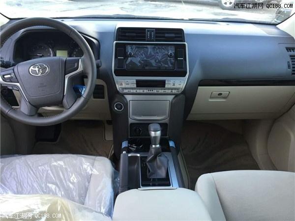 18款丰田霸道4000原装进口最低报价