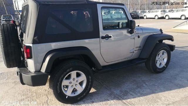 进口18款吉普jeep牧马人 3.6 两门 自动 软顶 越野神车