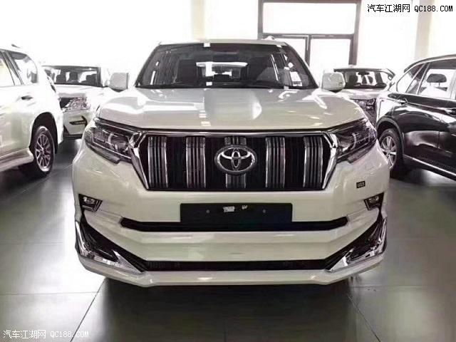 陕西18款丰田霸道4000中东版改装外观价格优