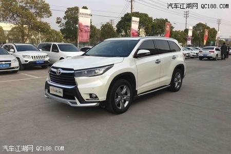 2018款丰田汉兰达价格促销,北京丰田4s店销售电话.