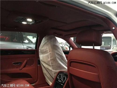 平行进口18款宾利飞驰V8s报价 港口现车颜色齐全