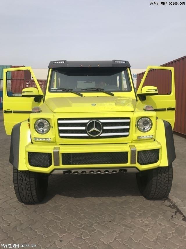 18款奔驰大G5004X4现车4.0T配置V8降税价格优惠