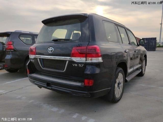 陆巡兰德酷路泽5700配置5.7V8油耗降税价格优惠