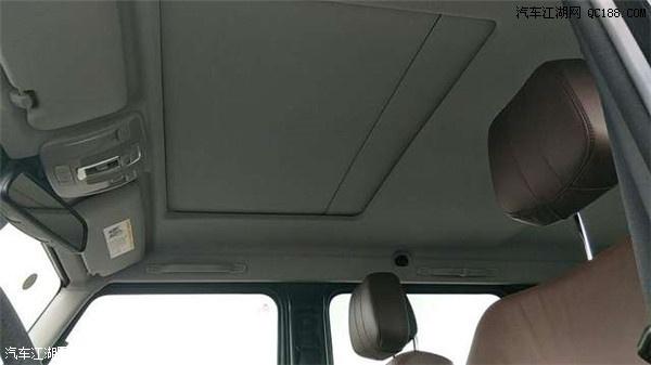 18款奔驰G350 久经考验经典越野最新报价 尽显复古个性
