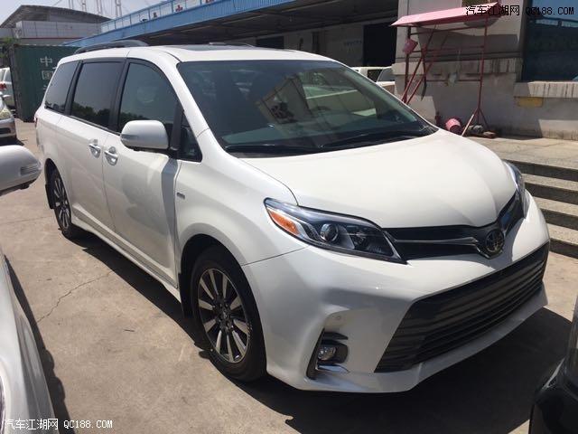18款平行进口塞纳 两驱与四驱天津现车全国最低价