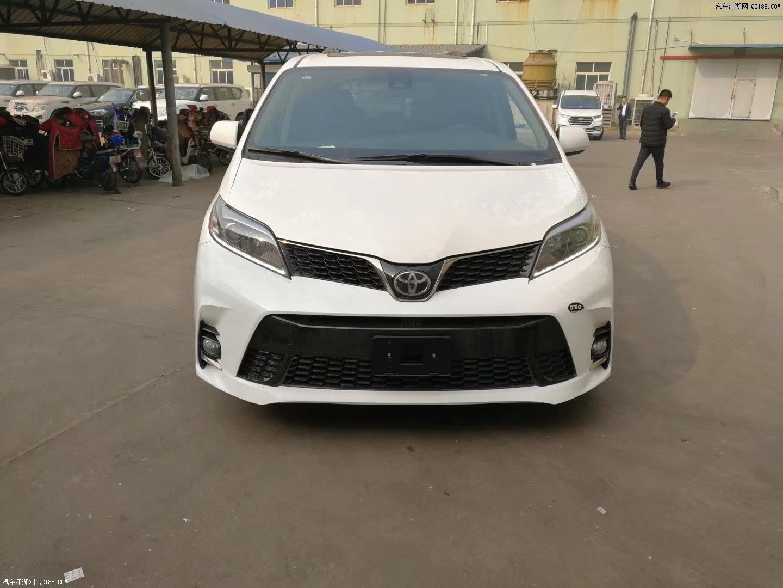 天津商务塞纳专卖 18款塞纳四驱版现车报价及图片