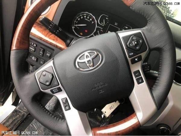 2018款丰田坦途 全尺寸皮卡热销车型